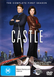 Castle - The Complete 1st Season (3 Disc Set) on DVD