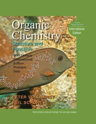 Organic Chemistry: Structure and Function by K.Peter C. Vollhardt image