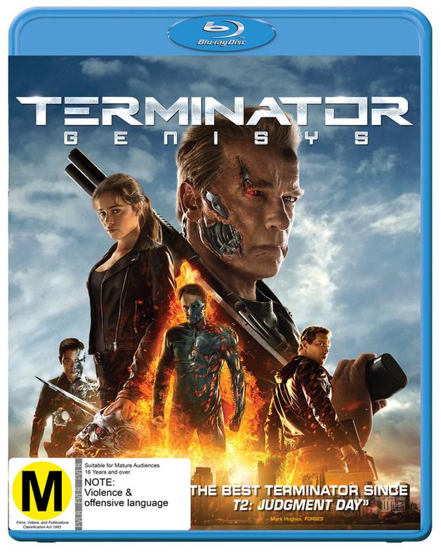 Terminator Genisys on Blu-ray
