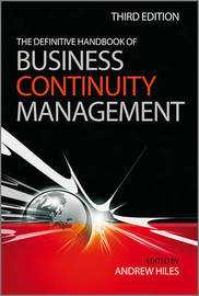 The Definitive Handbook of Business Continuity Management by Andrew Hiles