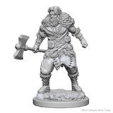 D&D Nolzurs Marvelous: Unpainted Minis - Human Male Barbarian