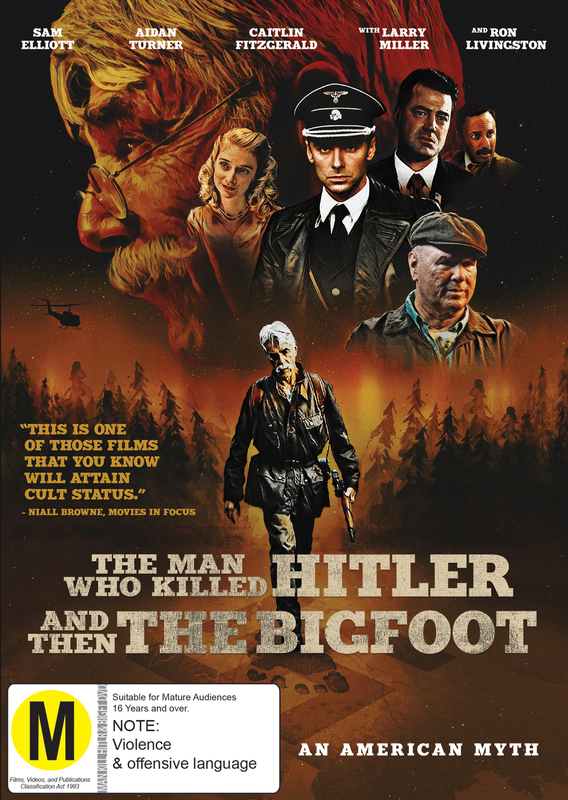 The Man Who Killed Hitler and then Bigfoot on DVD