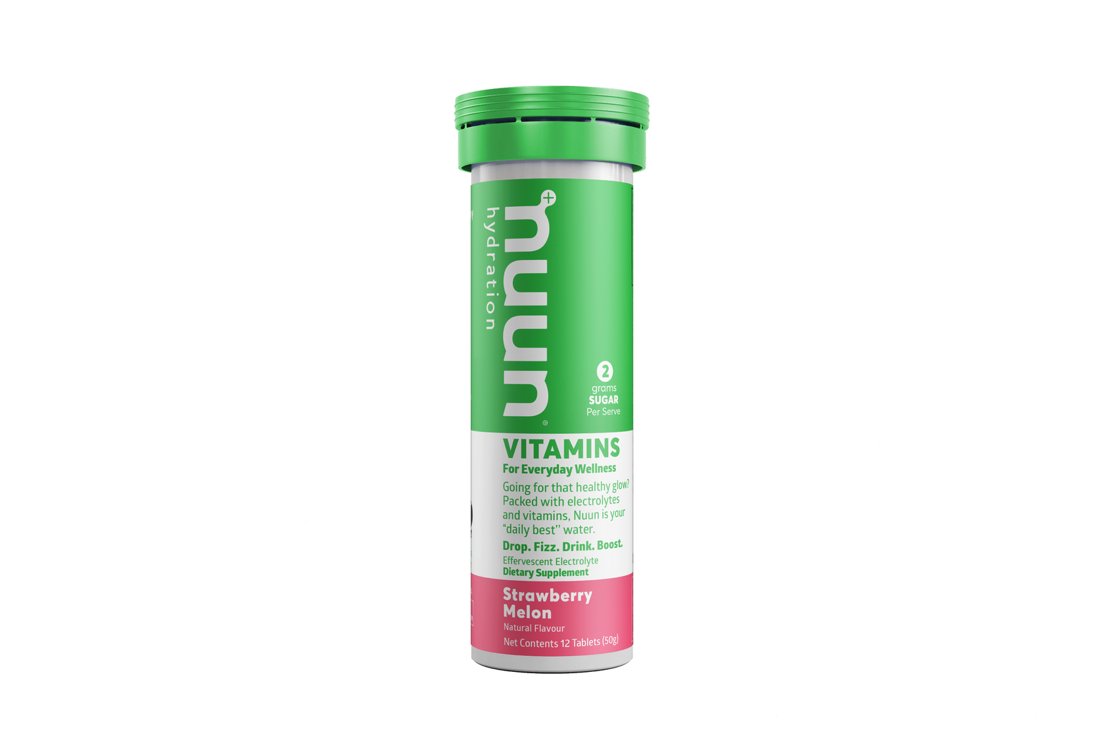 Nuun Vitamin Tablets - Strawberry Melon image