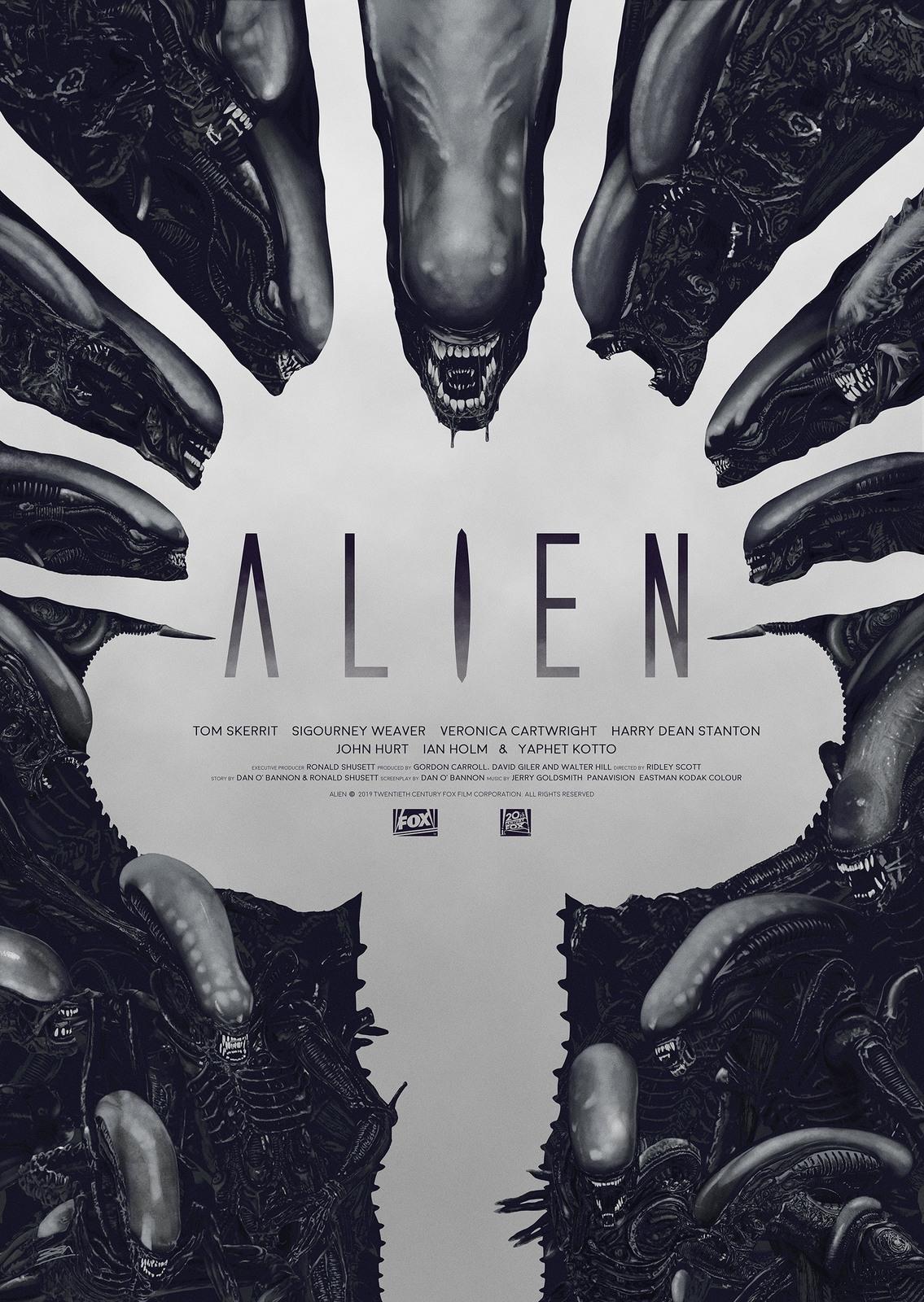 Alien: Premium Art Print - Face Hugger image