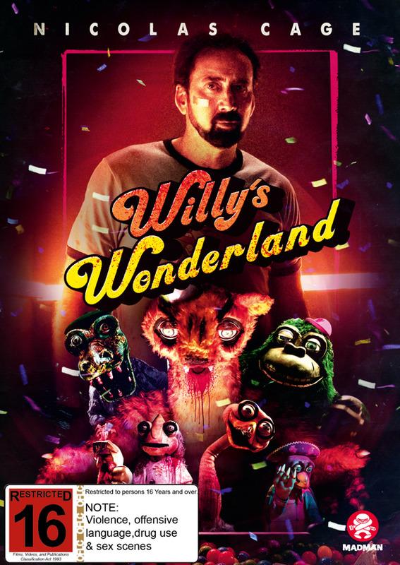 Willy's Wonderland on DVD