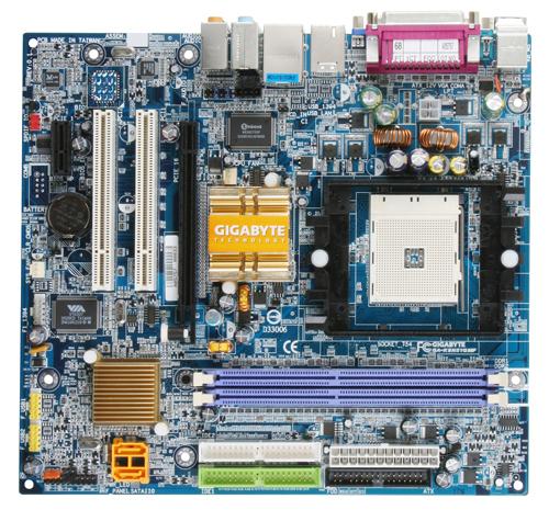 Gigabyte Motherboard Socket 754 GA-K8N51GMF image