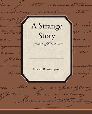 A Strange Story by Edward Bulwer Lytton Lytton, Bar image