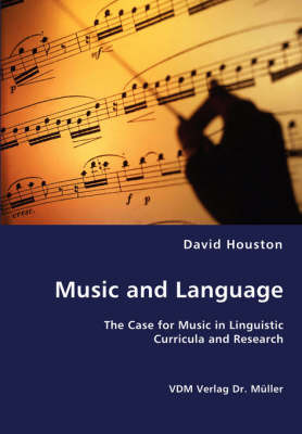 Music and Language by David Houston image
