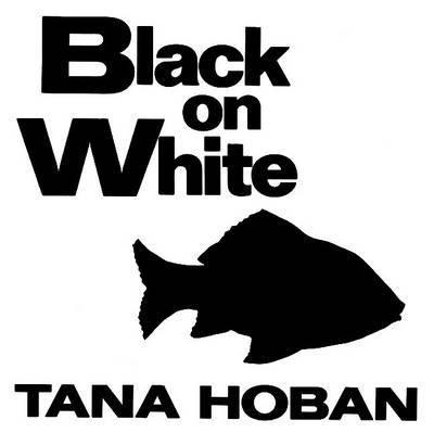 Black on White image