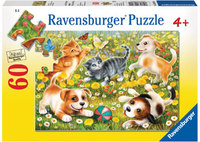 Ravensburger - Cats & Dogs Puzzle (60pc)