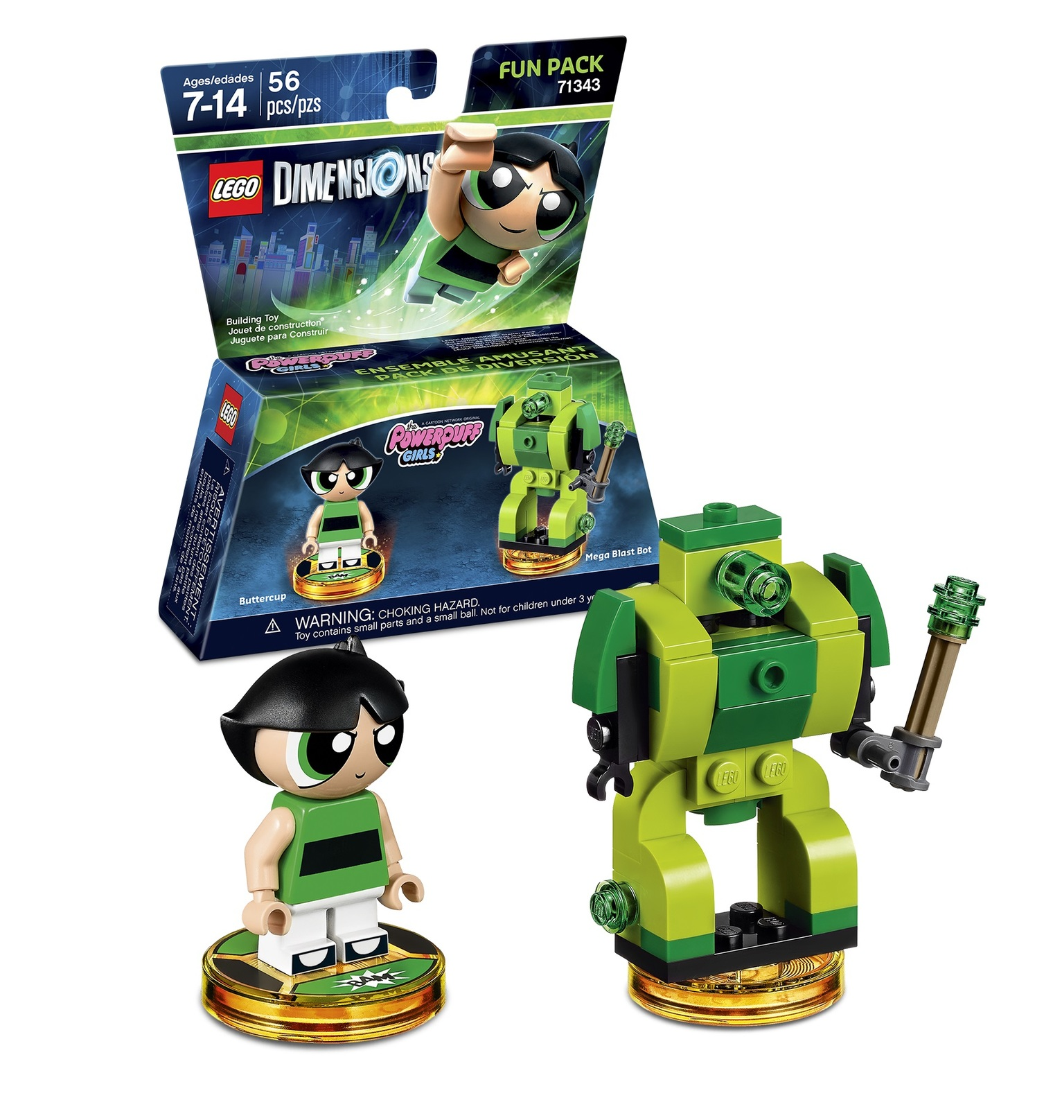 LEGO Dimensions Fun Pack - The Powerpuff Girls (All Formats) for  image