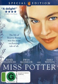 Miss Potter on DVD image