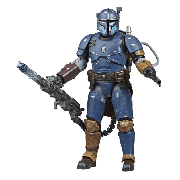 "Star Wars The Black Series: The Mandalorian Heavy Infantry - 6"" Action Figure"