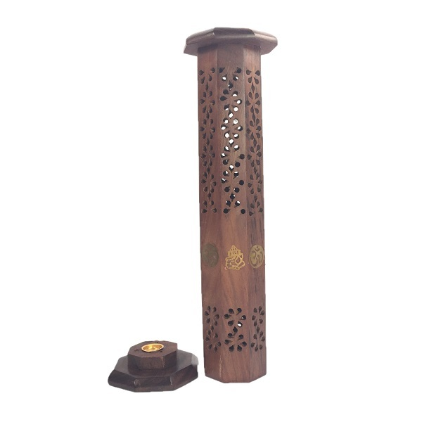 Ganesha-Om:12 inch Tower Incense