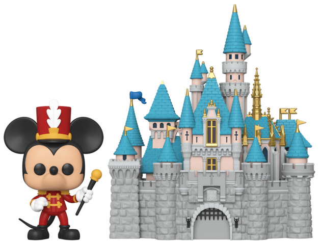 Disney: Mickey with Castle (Disneyland) - Pop! Town