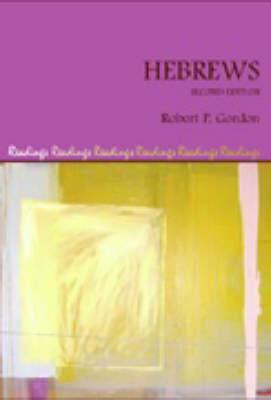Hebrews by Robert P Gordon image