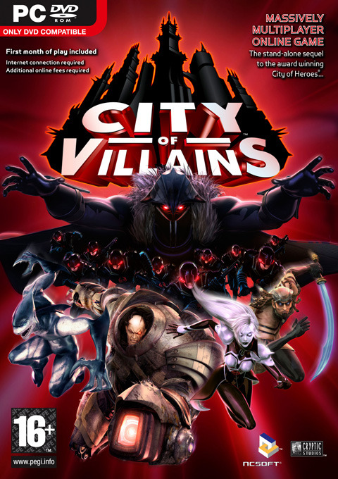 City of Villains for PC