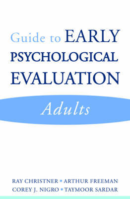 Guide to Early Psychological Evaluation by Ray W. Christner