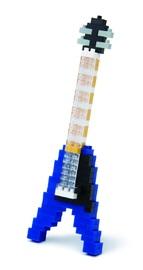 nanoblock: Instruments Electric Guitar Blue