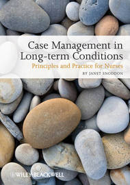 Case Management of Long-term Conditions by Janet Snoddon image
