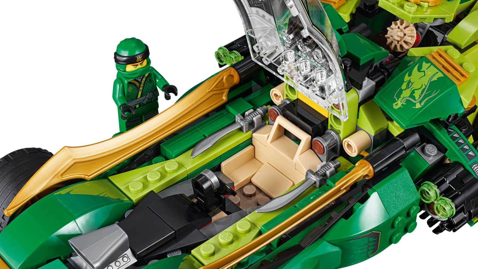 Lego Ninjago Ninja Nightcrawler 70641 Toy At Mighty Ape Nz