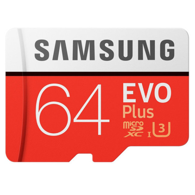 64GB Samsung EVO PLUS Micro SD with Adapter
