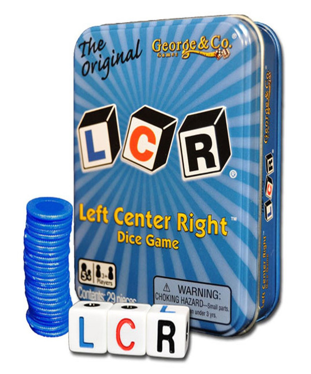 LCR: Left Center Right - Blue Tin Edition