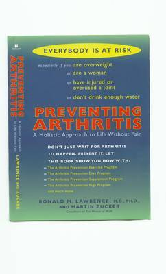 Preventing Arthritis by Ronald Lawrence image