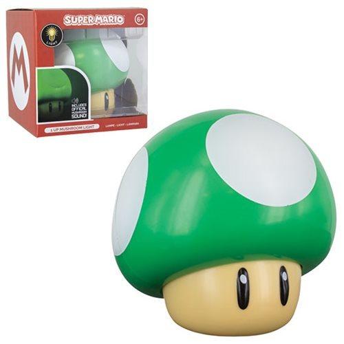 Super Mario: 1-Up Mushroom - Desk Light