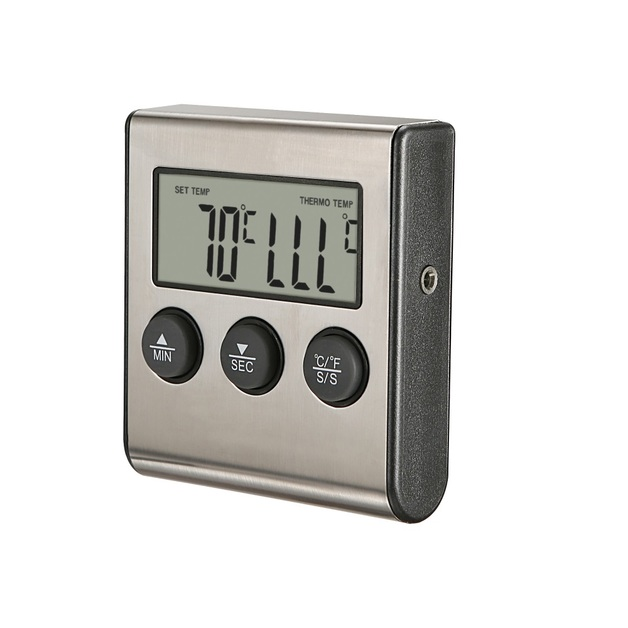 Ape Basics: Digital Oven Meat Thermometer & Timer