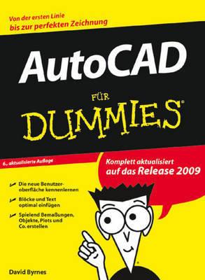 Auto CAD 2009 Fur Dummies by David Byrnes