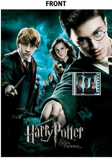 FilmCells: Premier Cell Presentation - Harry Potter (Harry Potter and the Order of the Phoenix)