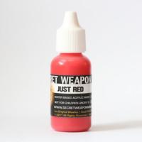 Secret Weapon Wash: Just Red