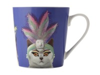 Christopher Vine - Mini Mob The Costume Party Mug Showgirl Purple (350ml)