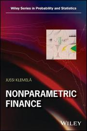 Nonparametric Finance by Jussi Klemela