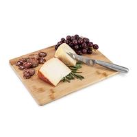 True: Appetize - Bamboo Board & Knife Set