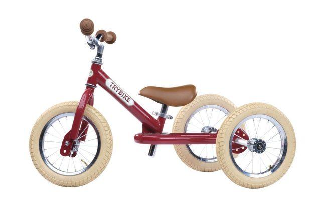 Trybike: Steel - Vintage Red/Creme