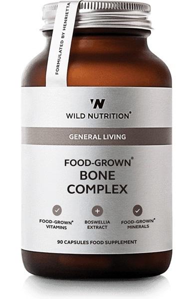 Wild Nutrition Food Grown Bone Complex (90 Caps)