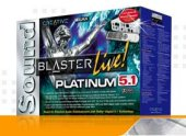 Creative SB LIVE! Platinum 5.1 for PC Games
