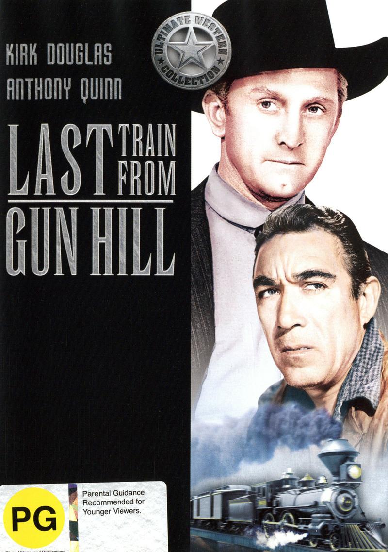 Last Train from Gun Hill DVD image