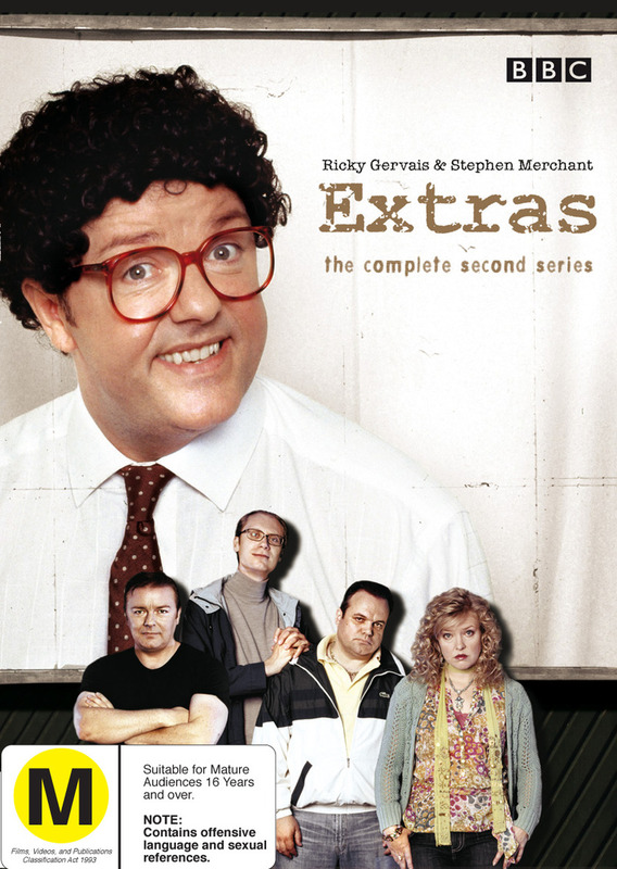 Extras - Complete Series 2 on DVD