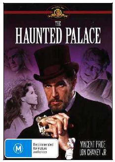 The Haunted Palace on DVD