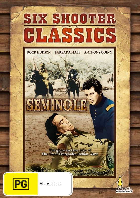 Six Shooter Classics - Seminole on DVD