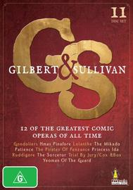 Gilbert & Sullivan (11 Disc Box Set) on DVD