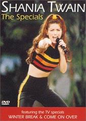 Shania Twain - The Specials on DVD