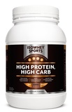 IsoWhey Sports High Protein, High Carb Powder - Chocolate (1.2kg)