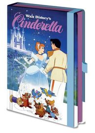 Disney Vintage Princess Premium A5 Notebook - Cinderella