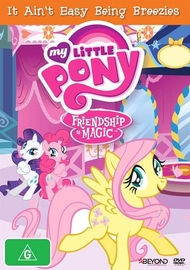 My Little Pony: Friendship is Magic: It Ain't Easy Being Breezies Season 4 Collection 3 on DVD image