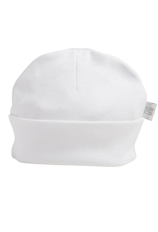 Babu: Hat - White (0-3 Months)