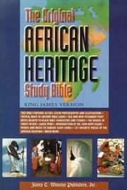Original African Heritage Study Bible-KJV-Large Print image